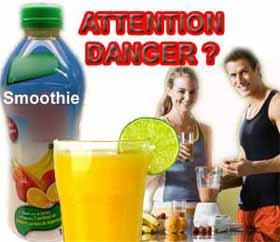 Les smoothies dangereux pour votre santé? Cela dépend lesquels!